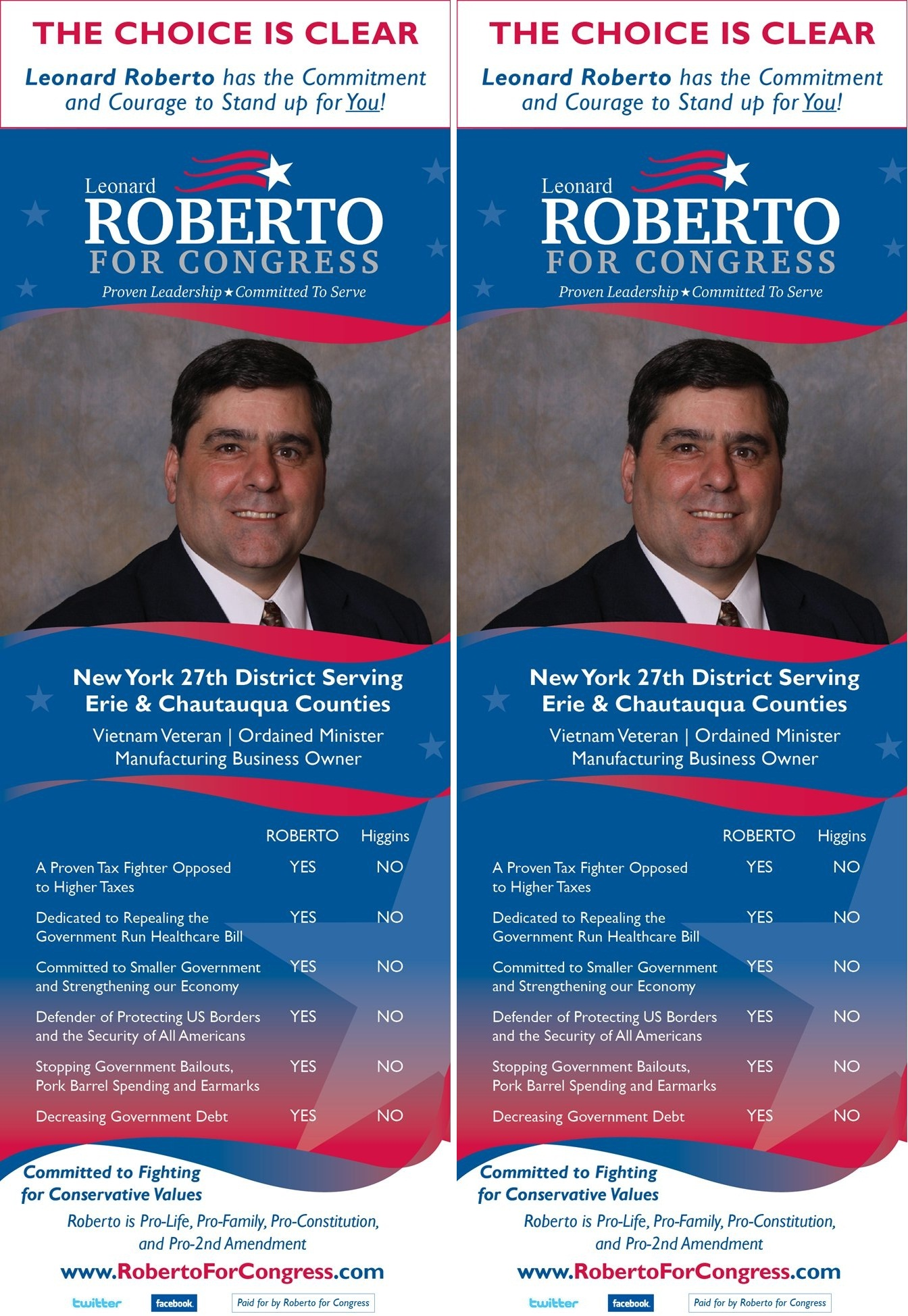 Candidate palm cards/flyers now online. Support these candidates ...